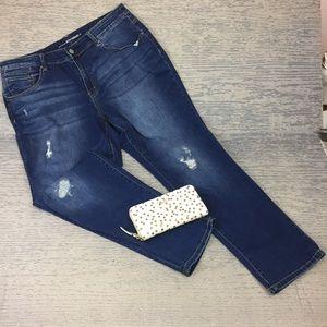 Chicos platinum boyfriend jeans
